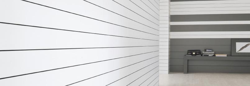 Rivestimento per pareti in laminato e in legno Vertical