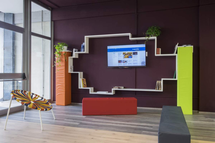 Awesome the first example of this new kind of school is liceo lussana a high school in bergamo - Interior design bergamo ...